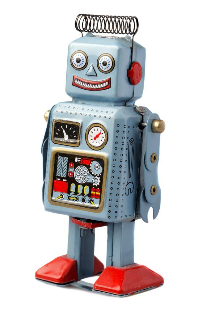Ein freundlicher Roboter