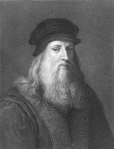 Leonardo Da Vinci Portrait