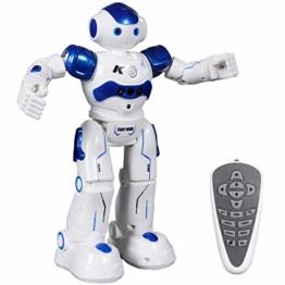 ANTAPRCIS Ferngesteuerter Roboter Spielzeug für Kinder, Intelligent Programmierbar RC Roboter mit Gestensteuerung, LED Licht und Musik, RC Spielzeug für Kinder Jungen Mädchen Geschenk - 1