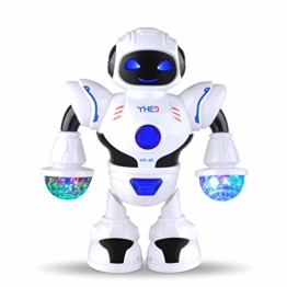 COSANSYS Intelligenter Multi Roboter für Kinder Elektronisches Spielzeug tanzen Roboter mit Musik und Licht, Disco und Jubel Roboter, blitzende Augen und blitzende Munder, als Geschenk für Kinder - 1