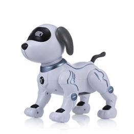 Goolsky LE Neng Spielzeug K16A Elektronische Haustiere Roboter Hund Stunt Dog Voice Command Programmierbare Touch-Sense Musik Song Spielzeug für Kinder Geburtstag - 1