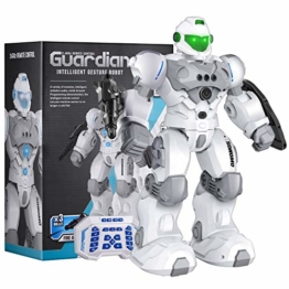 Sonomo Roboter Kinder Spielzeug, Ferngesteuerter Roboter Spielzeug für Kinder, RC-Roboter für Kinder, RC Spielzeug für Kinder Jungen Mädchen Geschenk, LED Licht und Musik Intelligente Roboter - 1